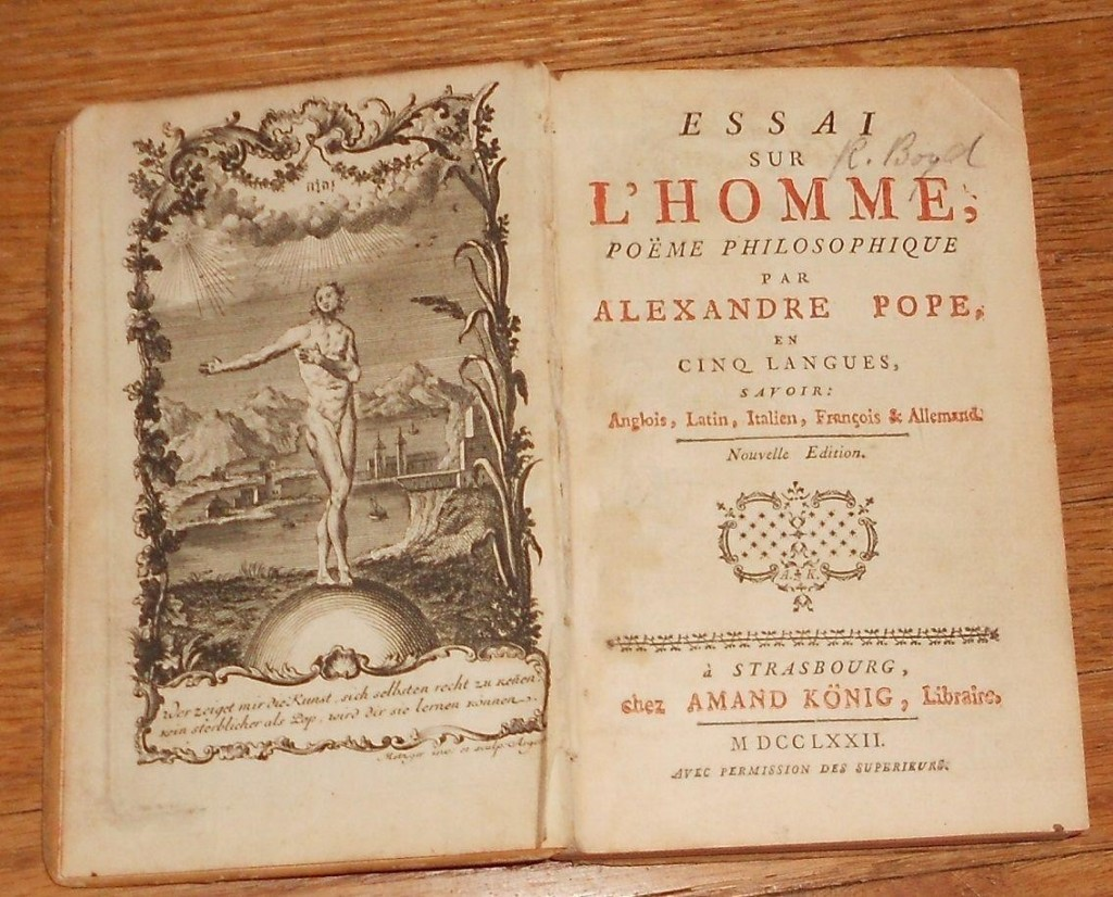 012 Antique Book Alexander Pope 1 1dc4fdaeab67e1326b1644bdae9f9884 Essay Example An On Awesome Man Epistle 2 Analysis Shmoop Large
