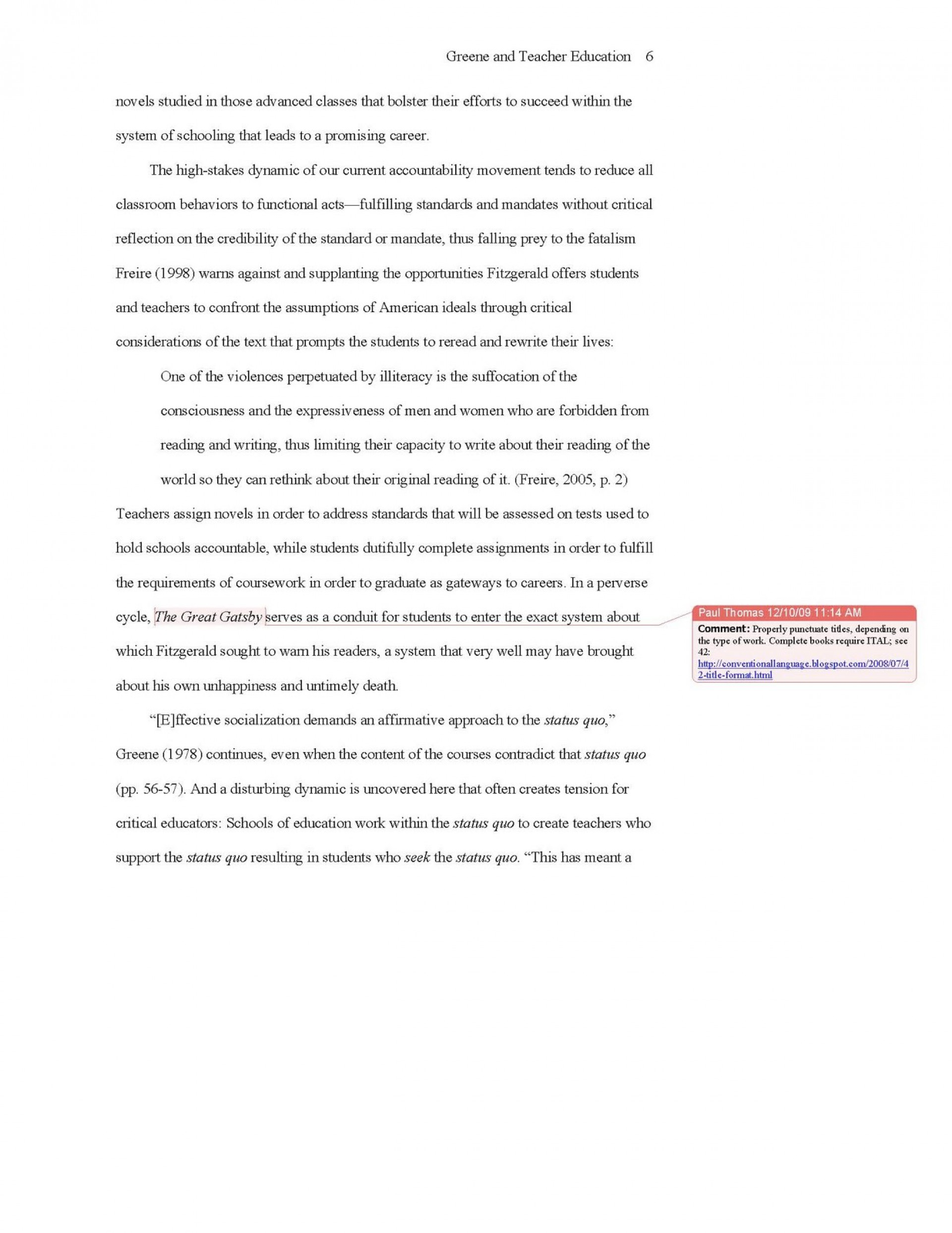012 Apa Short Essay Format Help Style And College Ex Archaicawful Sample Example 1920