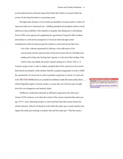 012 Apa Short Essay Format Help Style And College Ex Archaicawful Example Sample 480