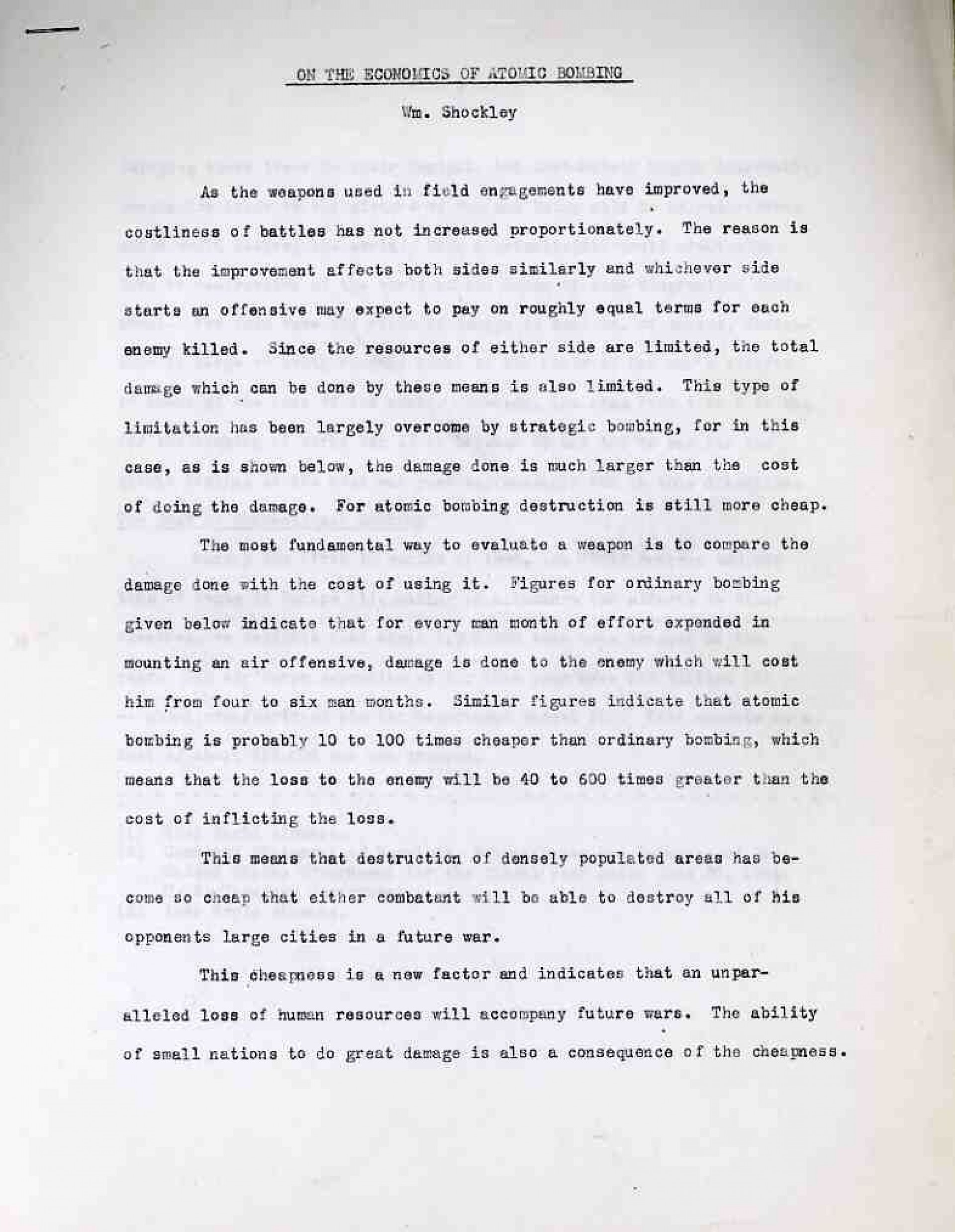 012 Atomic Bomb Essay Example Shocking Outline Conclusion Good Title For 1920