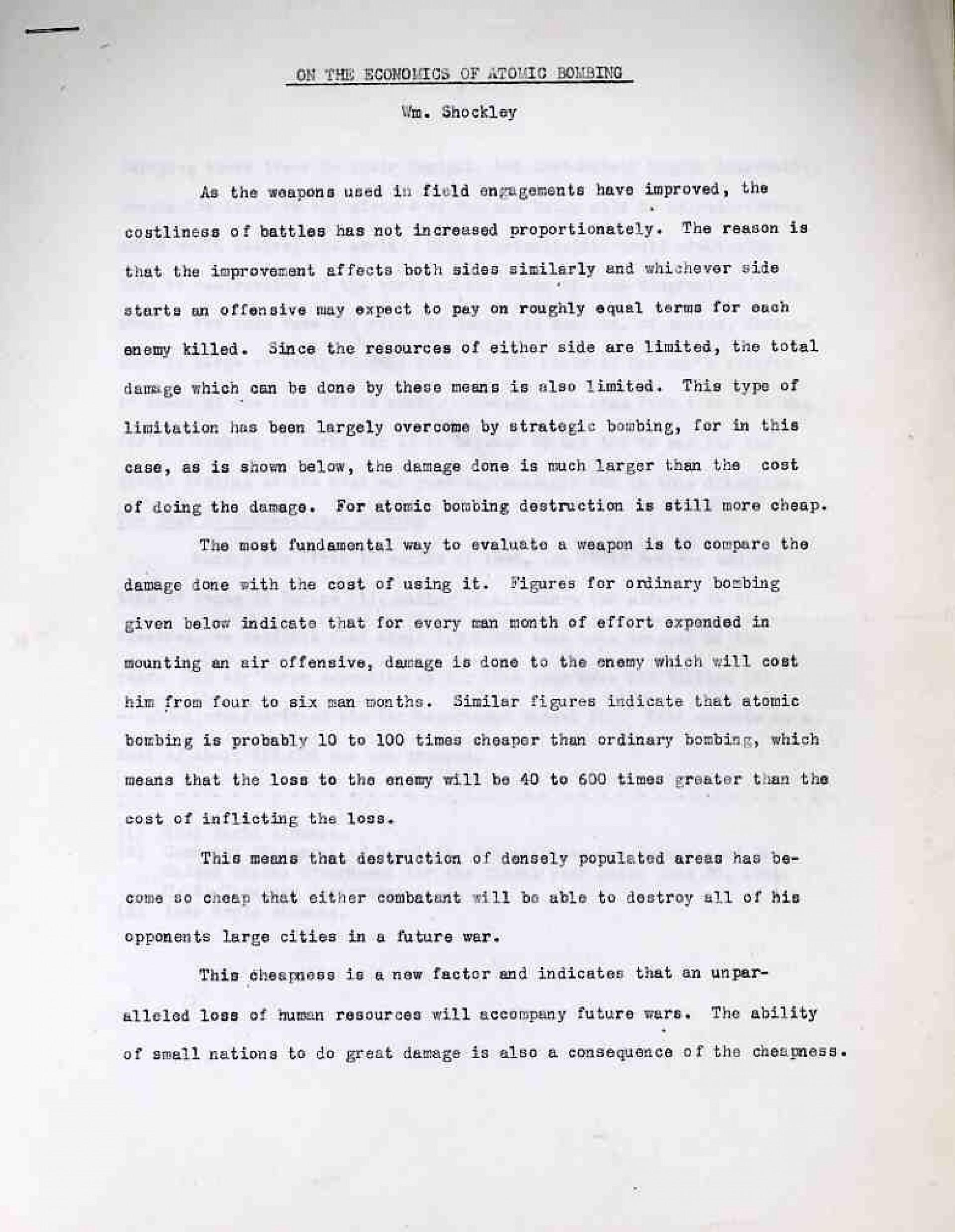 012 Atomic Bomb Essay Example Shocking Topics Questions Prompts 1920