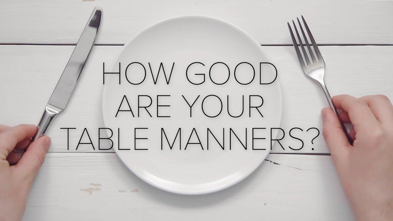 012 Basic Table Manners Essay Maxresdefault Wonderful Full