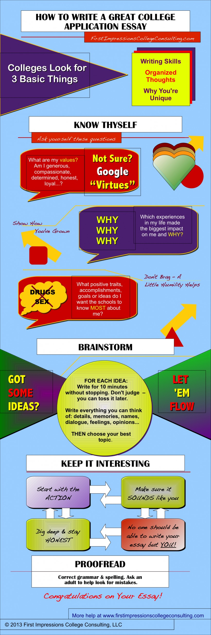 012 College Essay Consultants Write Great Infographic Final Fantastic Best