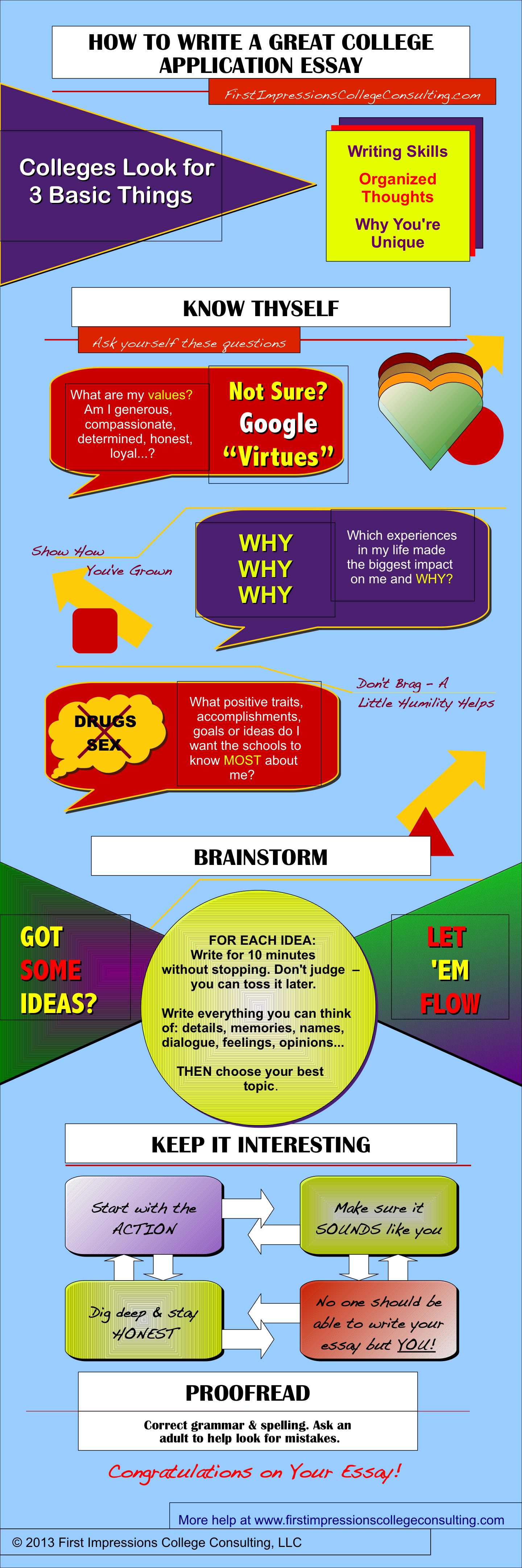012 College Essay Consultants Write Great Infographic Final Fantastic Best Full