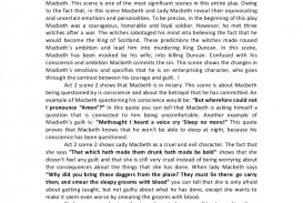 012 Conclusion For Macbeth Essay Ambition Example Act2scene2analysisessay Phpapp02 Thumbnail Best