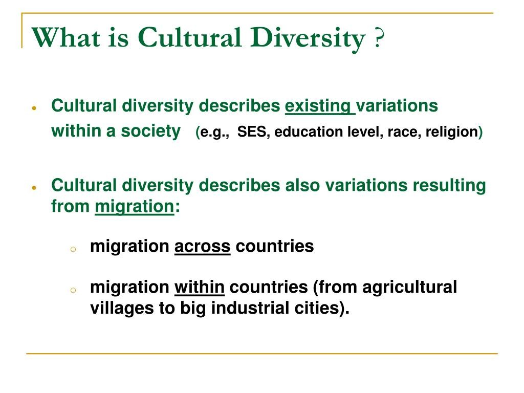 012 Cultural Diversity Essay What Is L Outstanding Topics Conclusion Introduction Large