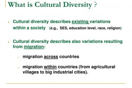 012 Cultural Diversity Essay What Is L Outstanding Topics Conclusion Introduction