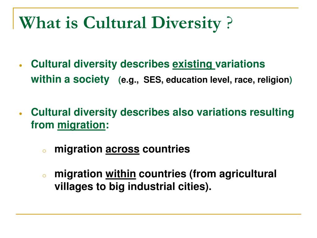 012 Cultural Diversity Essay What Is L Outstanding Topics Conclusion Introduction Full