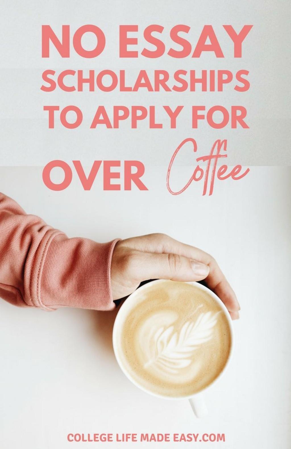012 Easy No Essay Scholarships Striking 2015 2019 Large