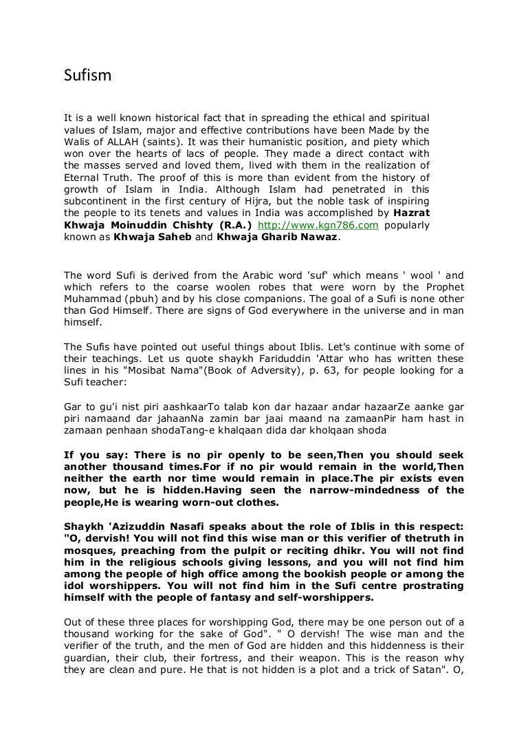 012 Ecraftncodesatrefsresaulia Hindsufism Phpapp01 Thumbnail Sufi Essays Essay Singular Seyyed Hossein Nasr Pdf Full