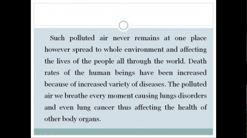 012 Essay Example Cause And Effect On Pollution Astounding Environmental Of About Air 360