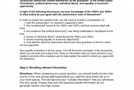 012 Essay Example Dbq Question One Answering Questions In Unforgettable Format Apa Multiple