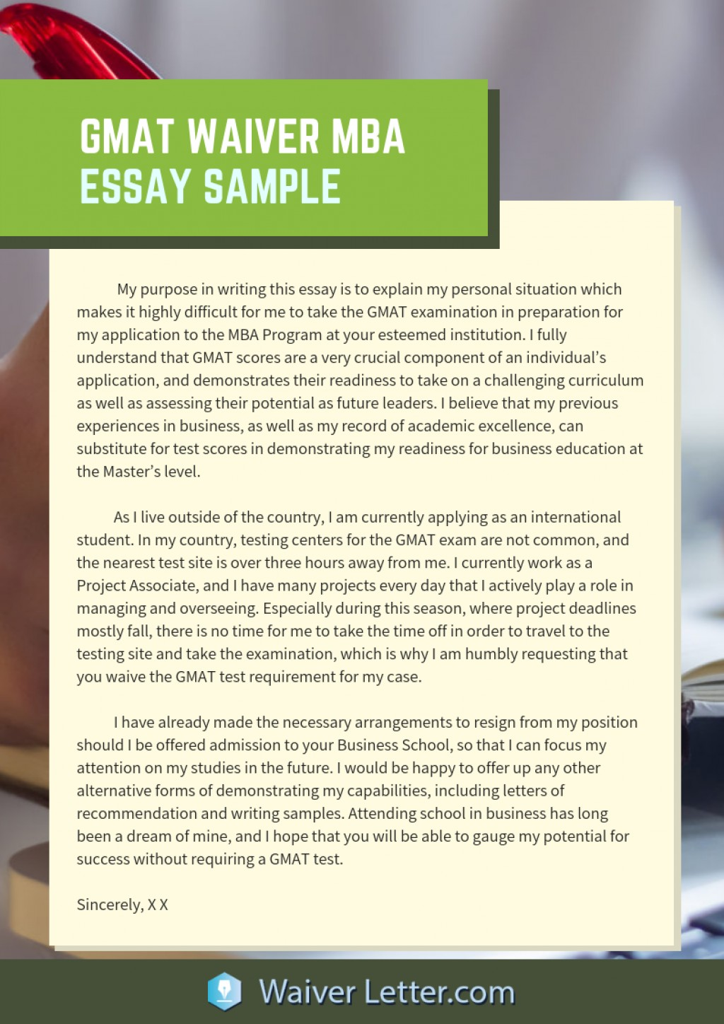 012 Essay Example Gmat Waiver Mba Shocking Sample Topics Awa Essays Free Download Large