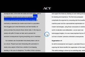 012 Essay Example How To Write An Act Dreaded Examples Template