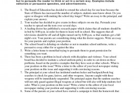 012 Essay Example How To Write High Fantastic A School Good Entrance Persuasive Scholarship