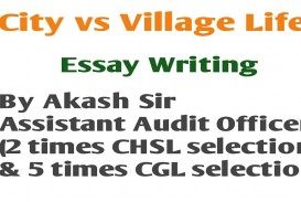 012 Essay Example Life In Village Impressive A On Indian English