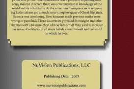 012 Essay Example Montaigne Essays Archaicawful Summary On Experience Quotes Best Translation