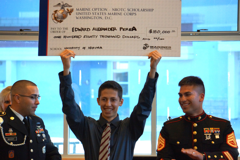 nrotc marine option scholarship essay