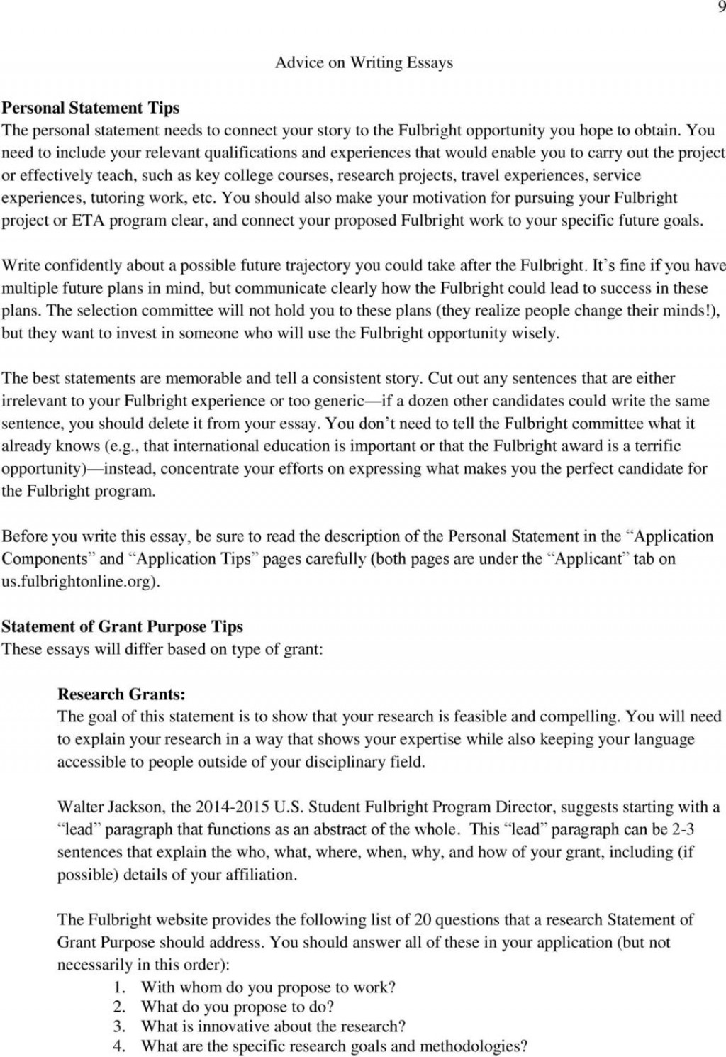 012 Essay Example On Achieving Goal Future Goalsomona College Fulbright Handbook Table Of How Will Help Achieve Your Stunning A Narrative Large
