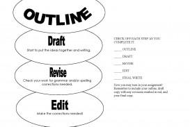 012 Essay Example Process Fantastic Outline Template Pdf