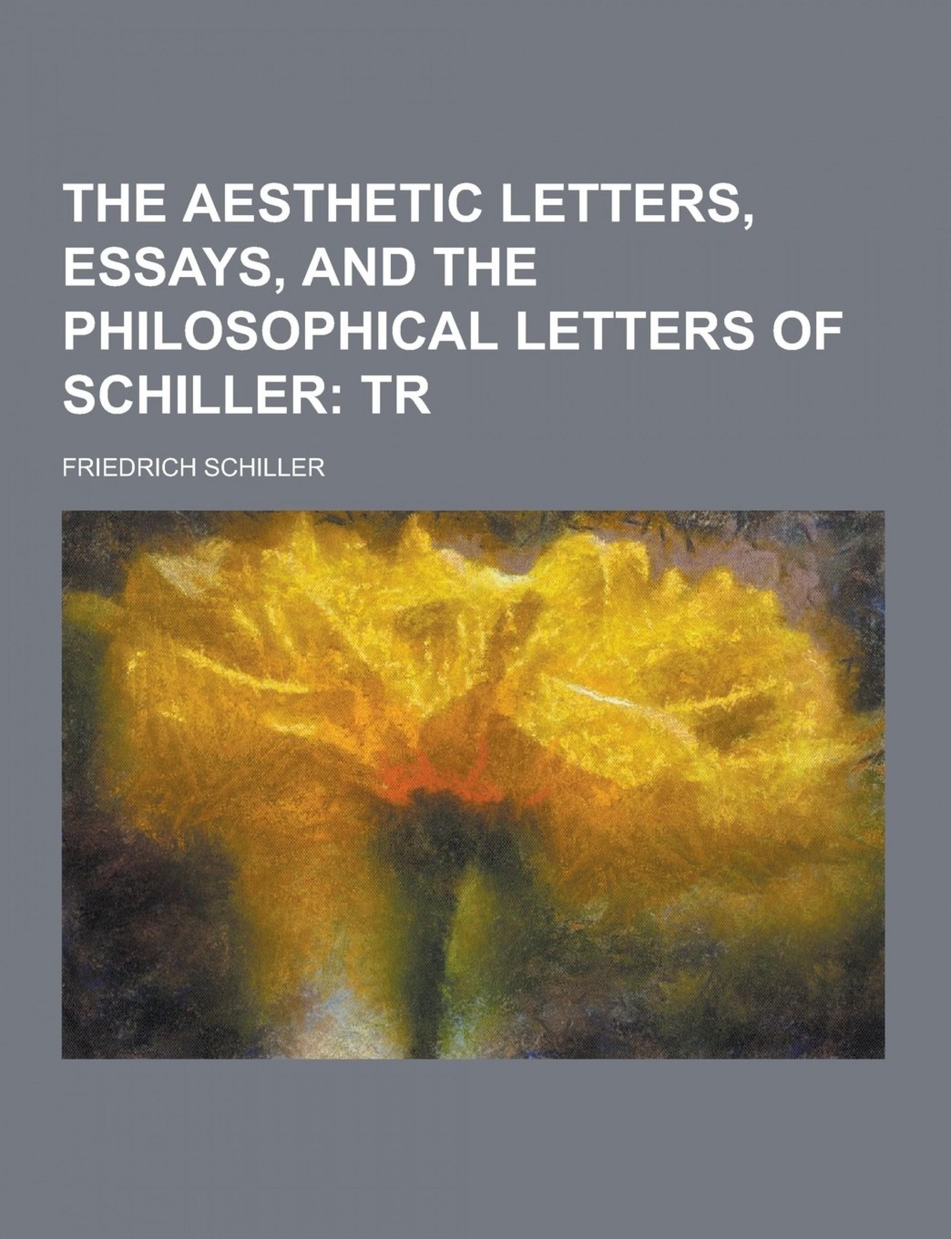 012 Essay Example Schiller Essays Awful Friedrich 1920