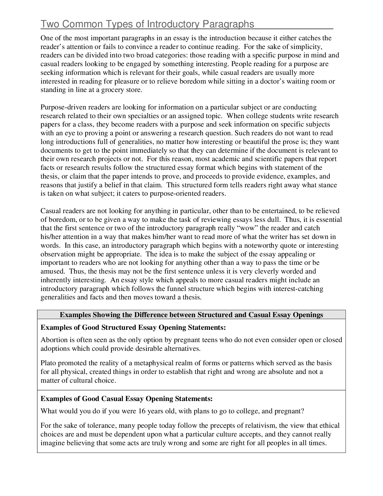 012 Essay Example Success With College Writing From Paragraph To For