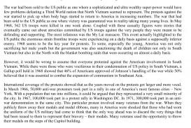 012 Essay Example Vietnam War Narrative Vs Wondrous Descriptive Studymode And Writing Igcse Ppt
