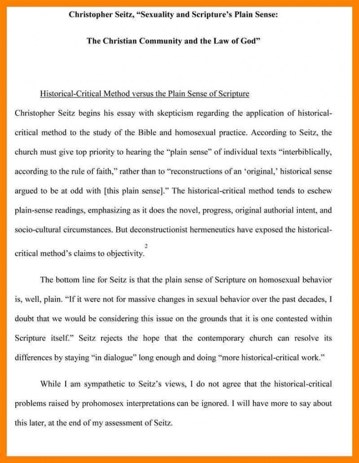 012 Essay Example Writing An Evaluation Madratco X Incredible Book Samples On Movies Self Format 728