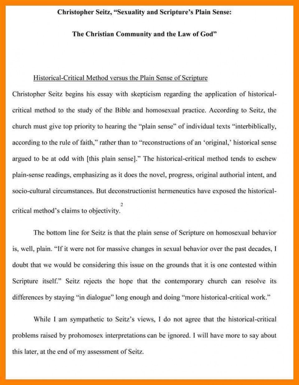 012 Essay Example Writing An Evaluation Madratco X Incredible Book Samples On Movies Self Format 960