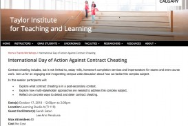 012 Essay Mills And Detection Services International Day Of Action Against Contract Cheating Sensational 320