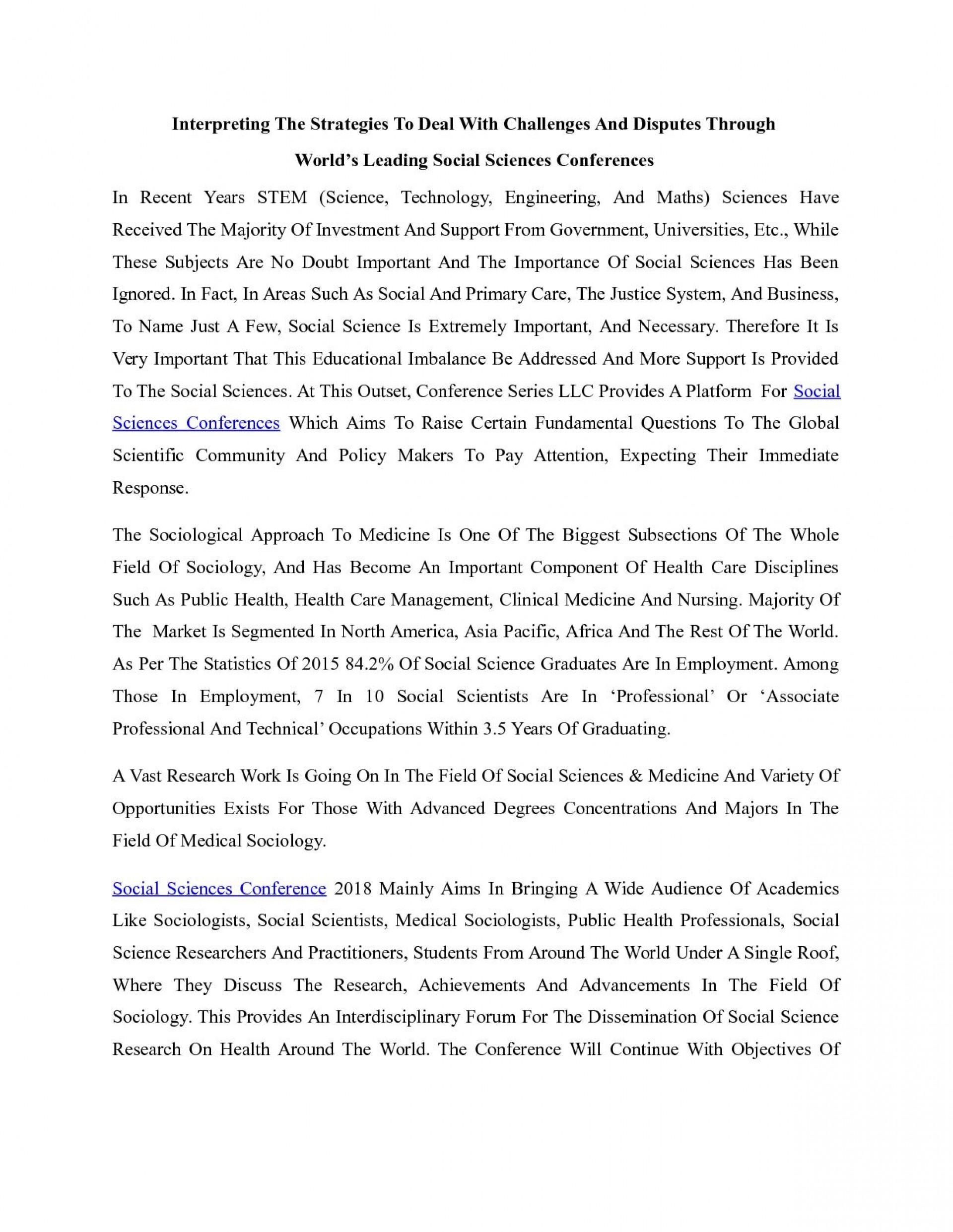 social science essay topics