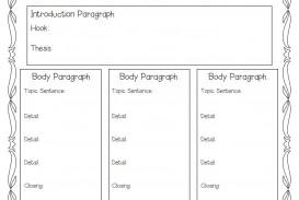 012 Five Paragraph Essay Format Stirring Teaching Argumentative