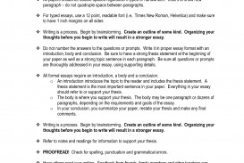 012 Formal Essay Example Format 326904 Stunning Short Letter