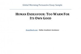012 Globalwarmingpersuasiveessaysample Phpapp02 Thumbnail Global Warming Persuasive Essay Top Topics Conclusion Outline