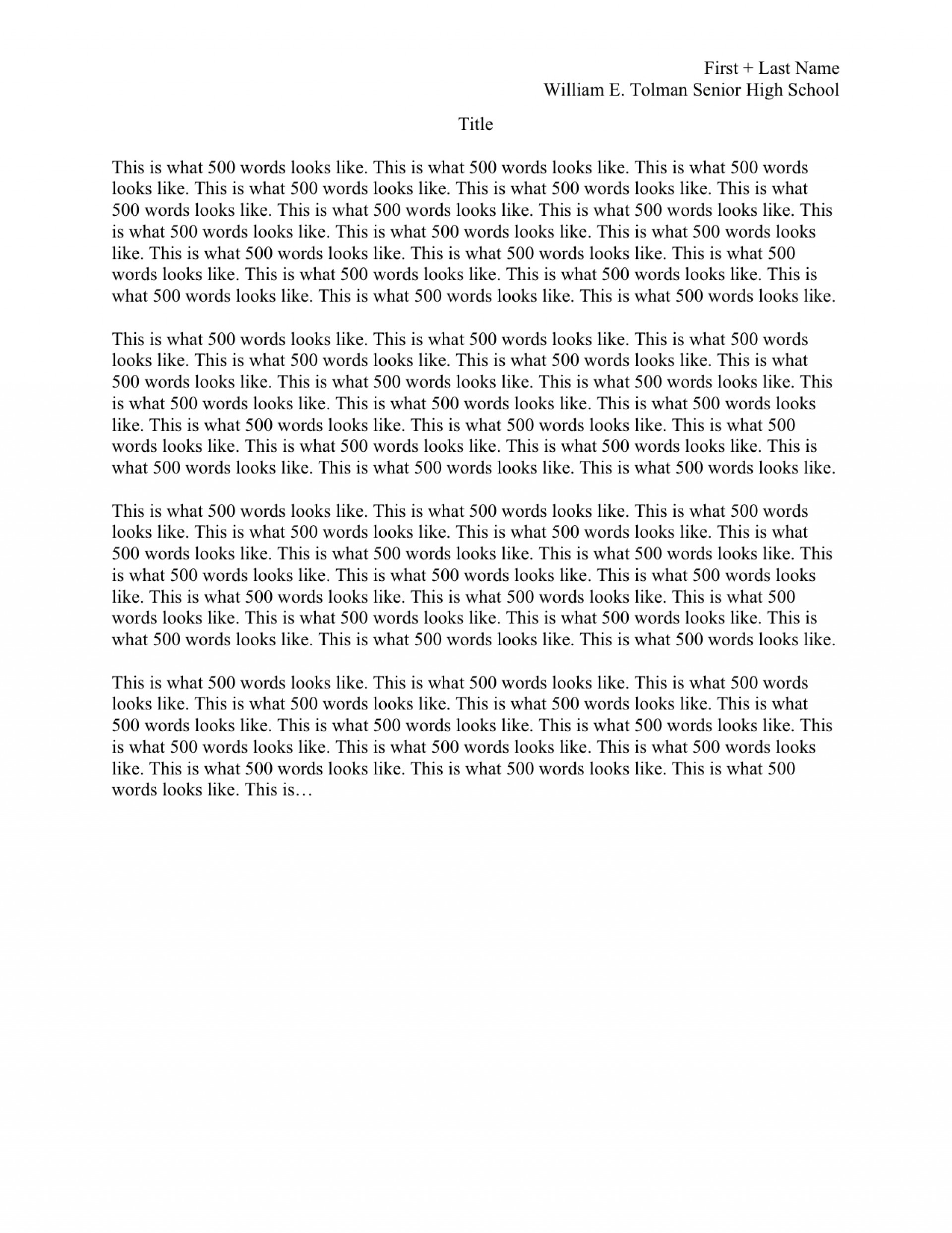 012 How To Format College Application Essay Format1 Awesome A Set Up My Your 1920