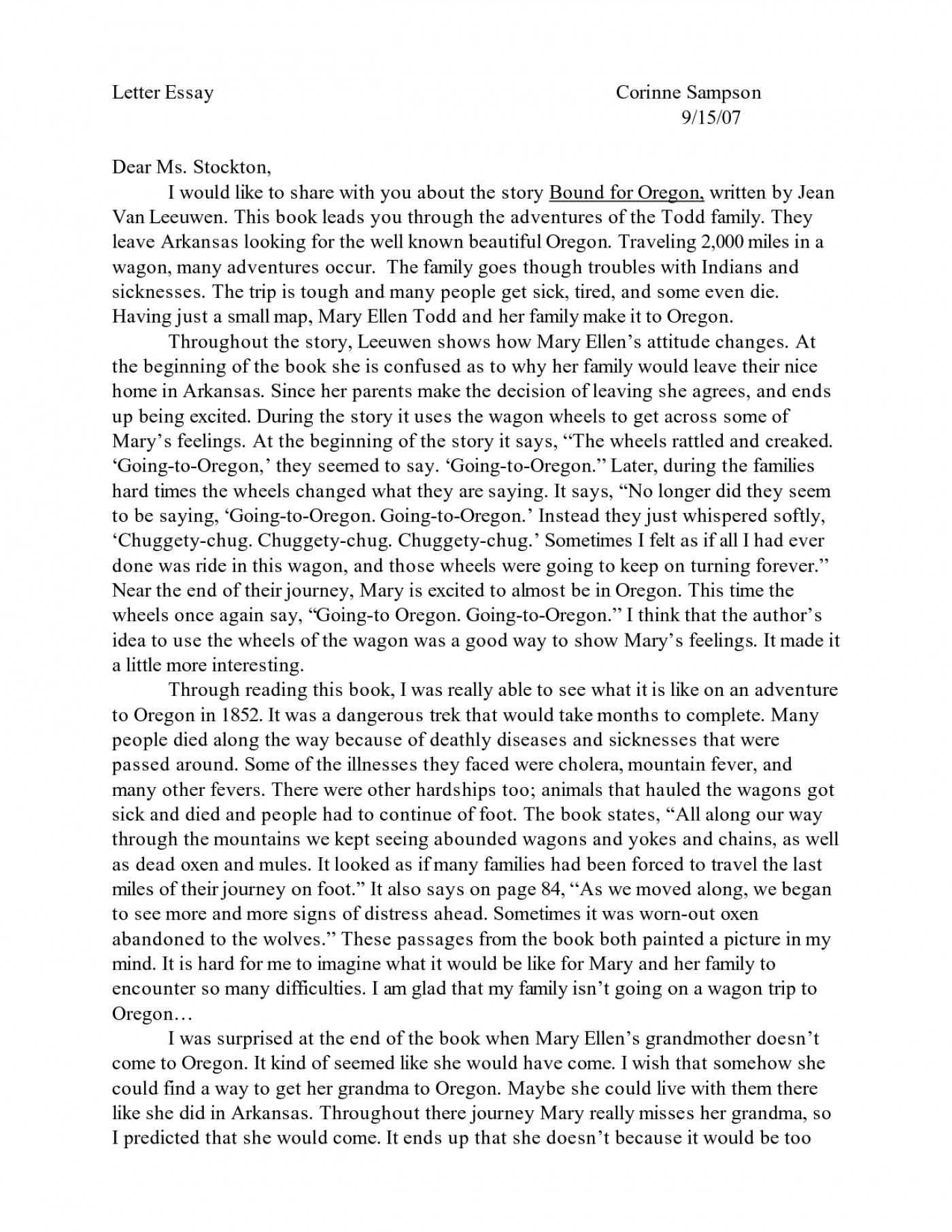 Best college essays