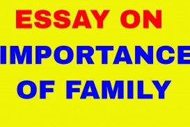 012 Importance Of Family Essay Maxresdefault Dreaded For Class 1 In Hindi Outline