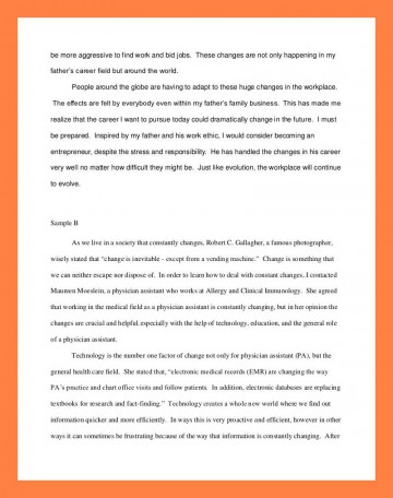 012 Interview Essay Example Examples Of Student Reflections Shocking Paper Format Apa Mla 360
