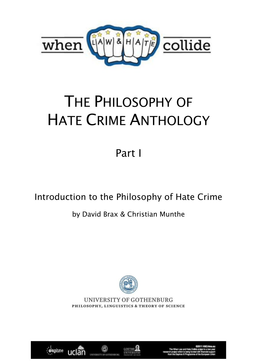 012 Largepreview Essay Example Hate Rare Crime Intro Criminology Uk Full