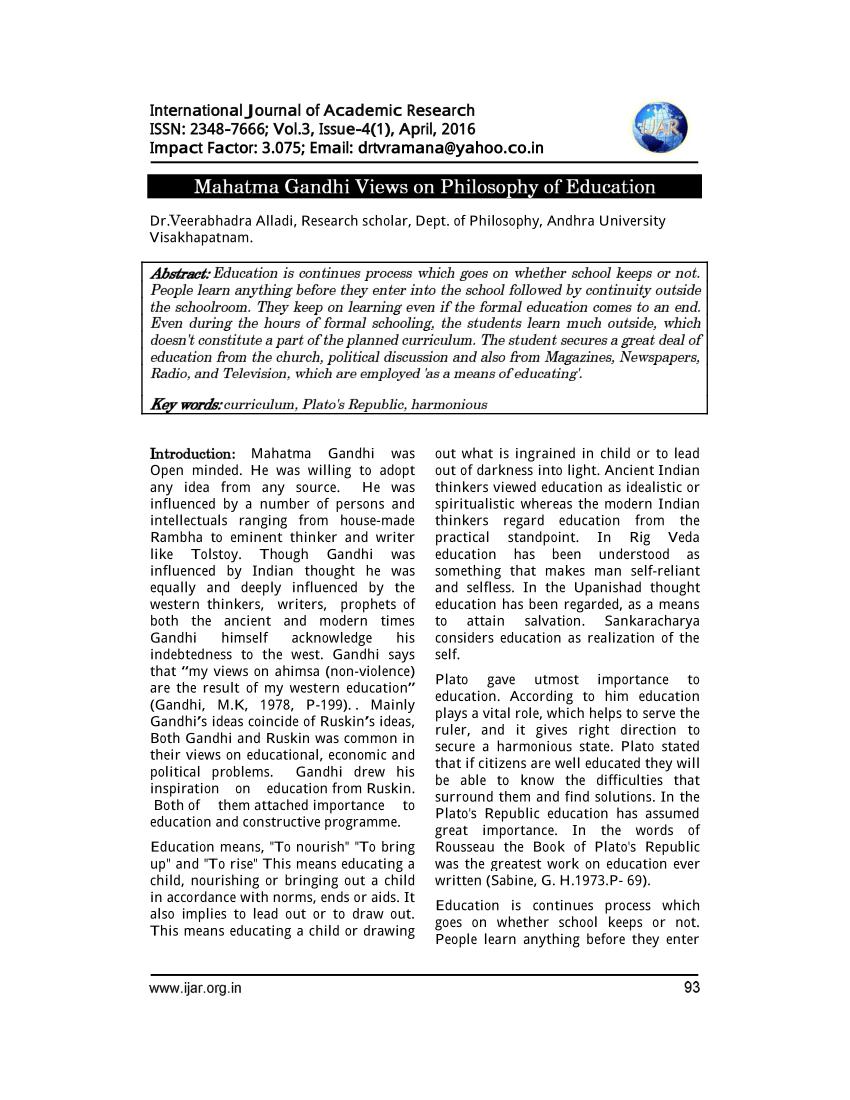 012 Mahatma Gandhi Essay In Urdu Largepreview Imposing Language Jayanti Speech Full
