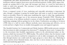012 Marketing Thesis Free Sample College Essay Generator Amazing Outline Idea