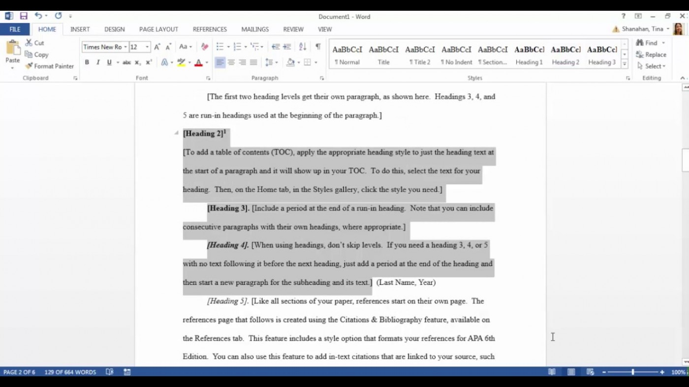 012 Maxresdefault Essay Example Apa Format Stupendous Template Short Sample Title Page 6th Edition 1400
