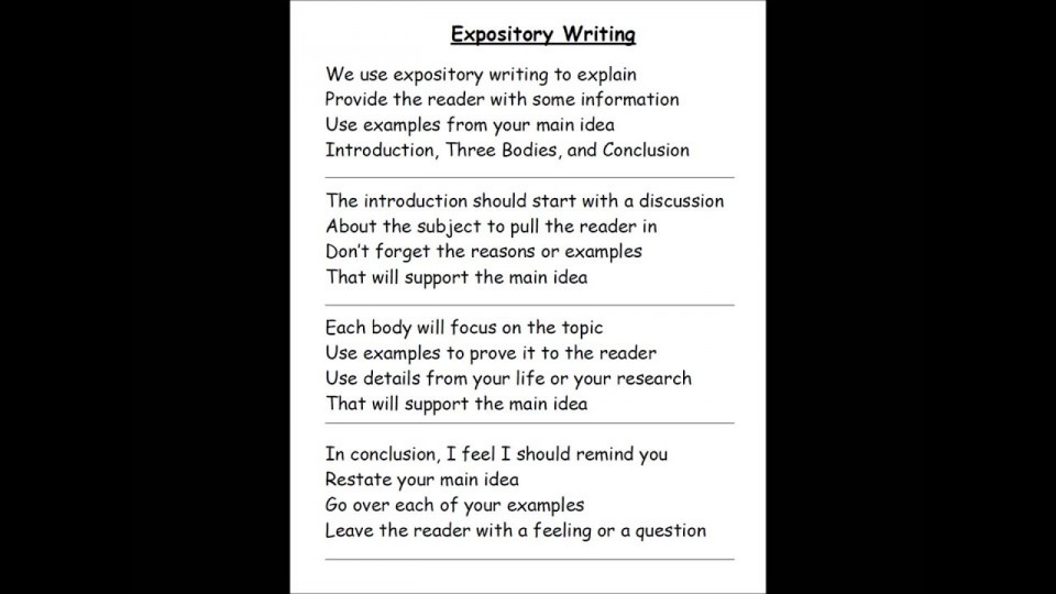 012 Maxresdefault Essay Example Explanatory Fascinating Topics Informative For College High School Prompt 4th Grade 960