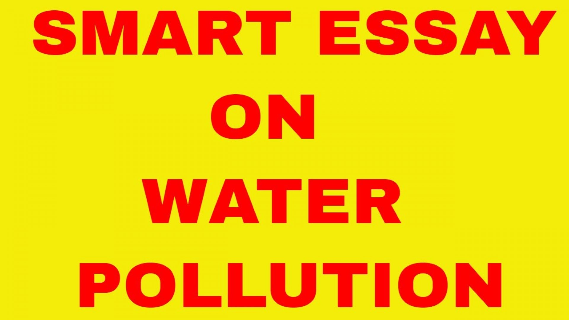012 Maxresdefault Essay Example On Unbelievable Water Conservation Pollution In Hindi Crisis Pakistan 300 Words 1920