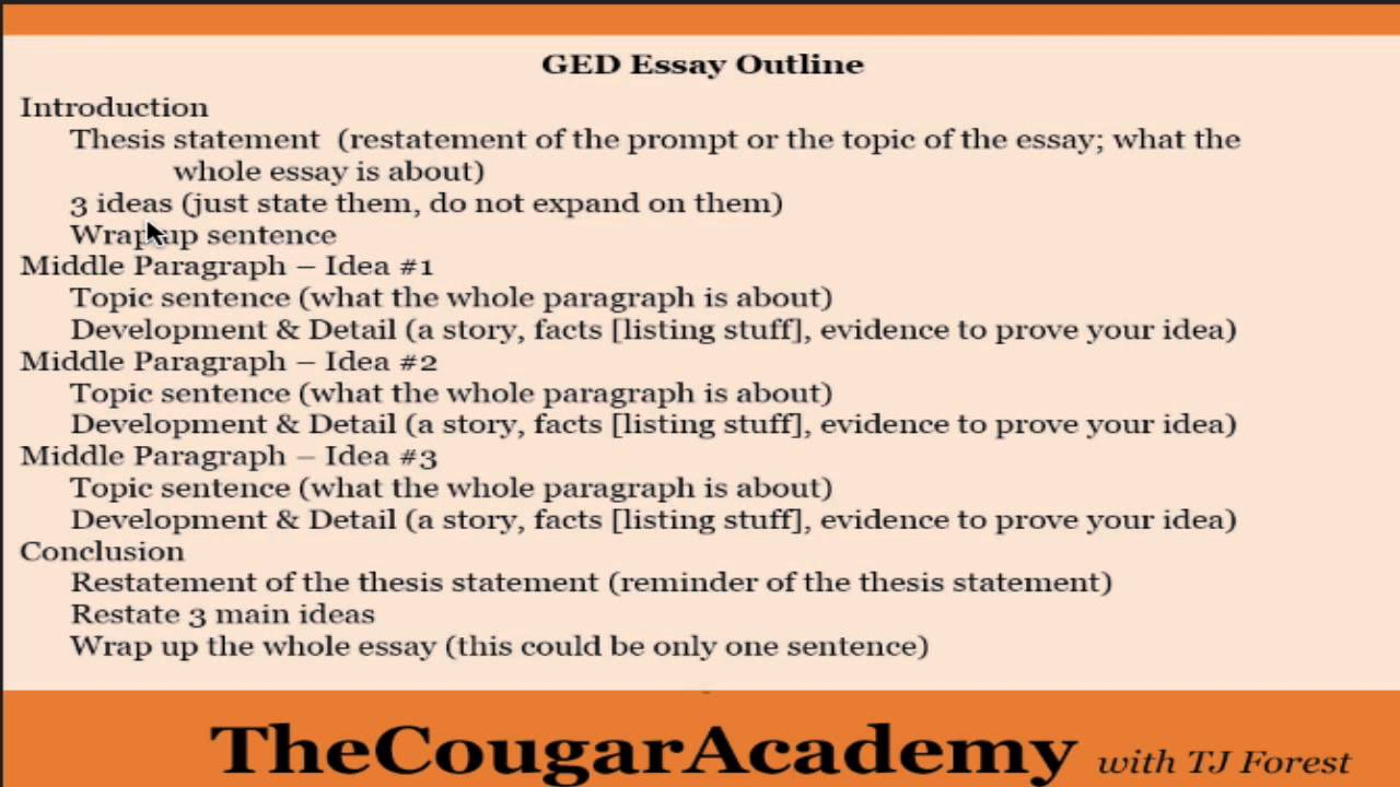012 Maxresdefault Ged Essays Excellent Essay Examples 2016 Full