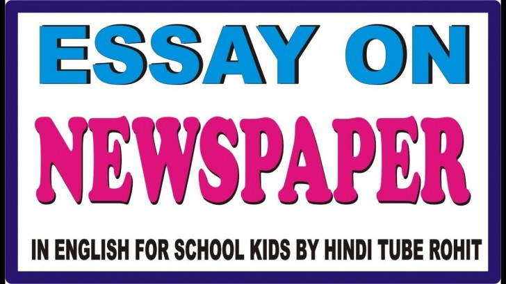 012 Maxresdefault My Favourite Newspaper Essay In English Striking 728