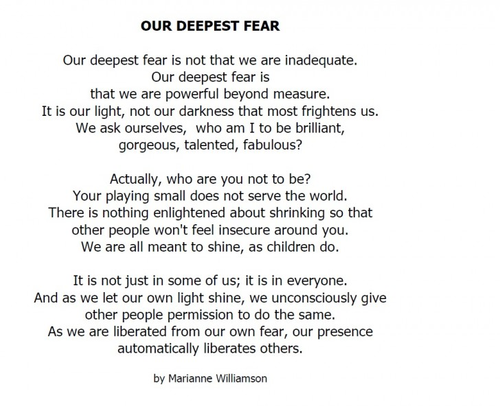 012 Our Greatest Fear Essay On Stupendous Of Darkness My Failure Ways To Overcome Public Speaking 728