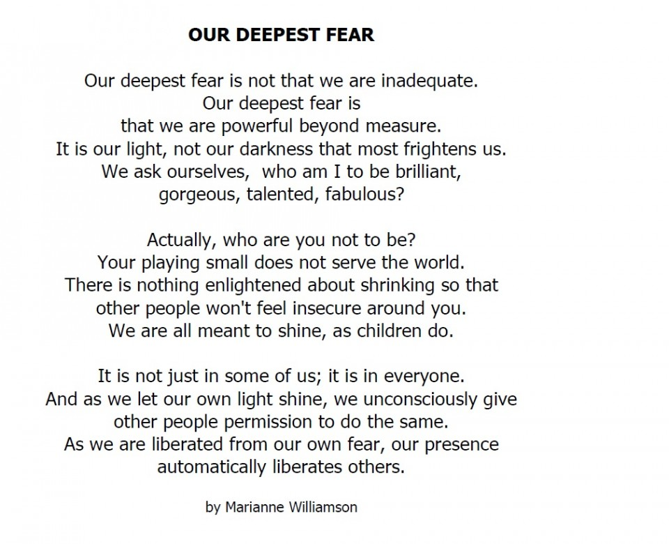 012 Our Greatest Fear Essay On Stupendous Of Darkness My Failure Ways To Overcome Public Speaking 960