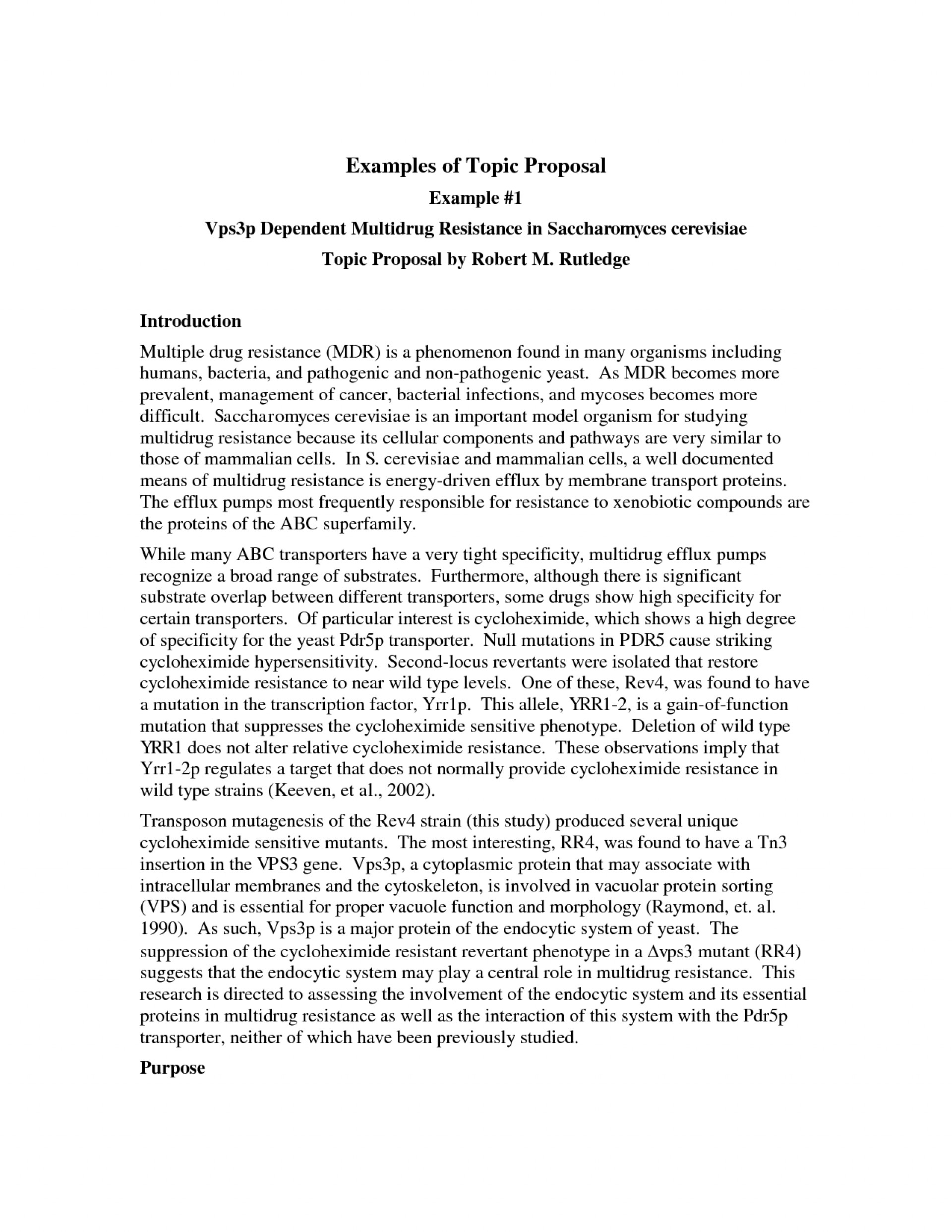 Proposal essay topics examples