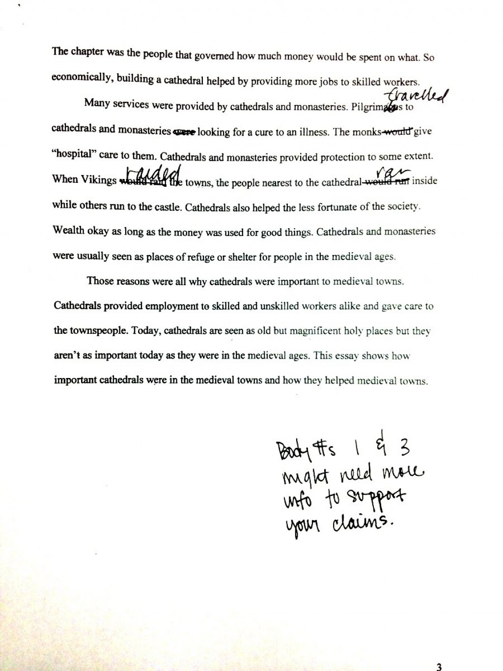 012 Research20essay20example20p3 Rough Draft Essay Unforgettable Template Examples Large